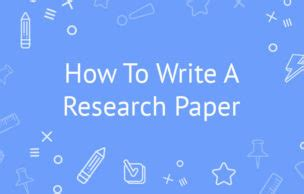 How to write an abstract ape for research paper